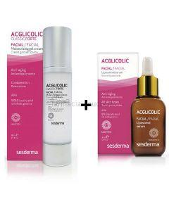 Acglicolic Classic Forte Feuchtigkeit + Acglicolic Liposomal Ser