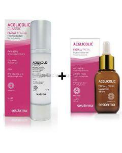 Acglicolic Classic Feuchtigkeit Gel + Acglicolic Liposomal Serum