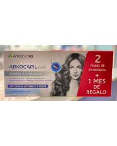 Double Advance Arkocapil 2x60 capsules + Gift