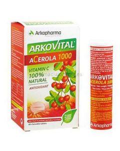 Arkopharma Arkovital Acerola 1000 15 tablets