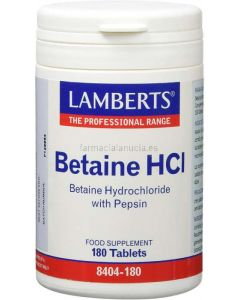 ➡️ Betain HCL 324 mg / Pepsin 5 mg 180 Tabletten