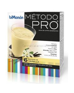 Bimanan Pro Vanilla-Erschütterung 6 Einheiten