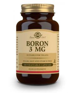 Solgar Boro 3 mg 100 Cápsulas vegetales