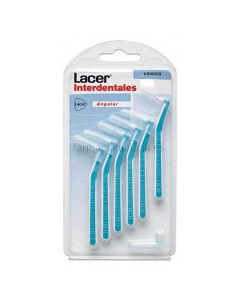 Lacer Cepillo Interdental Angular Conico 6 Unid