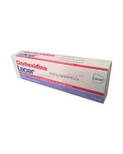 Clorhexidina Lacer toothpaste 75ml