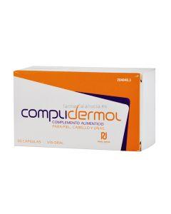 Complidermol For Skin, Hair and Nails 50 capsules