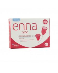 Enna Cycle Twin Pack with Applicator and Case Large