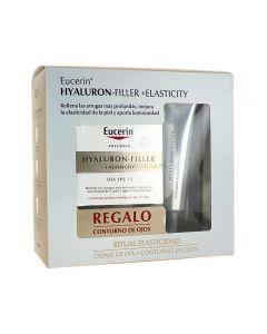 Eucerin Hyaluron Filler Día Elasticity + Contorno de Ojos Regalo