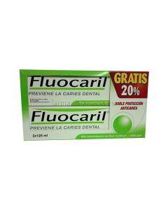 Fluocaril Toothpaste bi-fluore 250 125ml Duplo