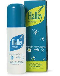 HALLEY Repelente Mosquitos Spray Todo Tipo de Insectos Protección de Larga Duración 150ml