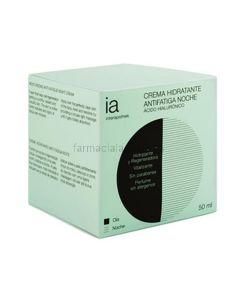 Interapothek moisturizing anti-fatigue night cream hyaluronic acid 50ml