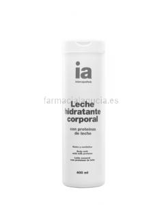 Interapothek leche corporal proteinas leche 400ml