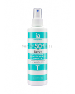 Interapothek Protector Solar Niño Spray SPF50+ 200 ML