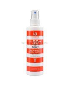 Interapothek Protector Solar Spray Transparente SPF50+ 200ml
