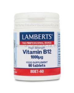 LAMBERTS VITAMINA B12 1.000 mcg 60 comprimidos