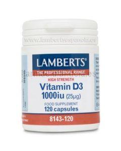 LAMBERTS VITAMIN D3 (cholecalciferol) 1000ui 120 capsules