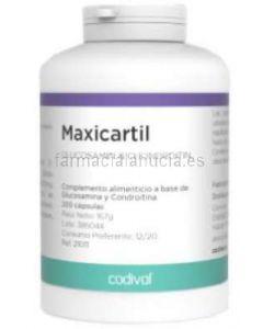 ➡️ MAXICARTIL Glucosamin + Chondroitin ✅ 200 Kapseln [CODIVAL]