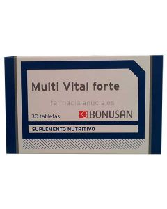 Bonusan Multi Vital Forte 30 Tabletten