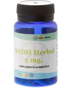 NADH ⭐️  5mg 30 cápsulas [ALFA HERBAL]