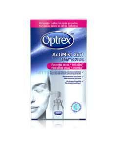 Optrex ActiMist Spray 2 en 1 ojos secos e irritados