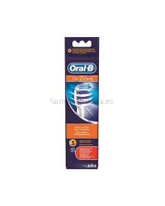 Replacement Head for Oral-B electric toothbrush Trizone