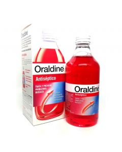 Oraldine Antiseptic Mouthwash 400ml