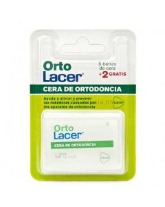 Orto Lacer Cera of Orthodontics 5 Barritas + 2 Free