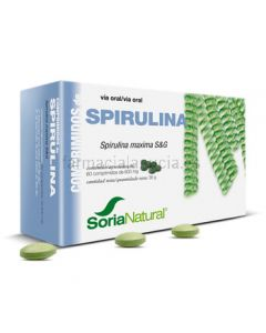 Soria Natural Spirulina 60 Tabletten