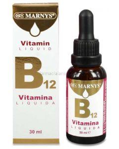 VITAMINA B12 ✳️ Líquida 30 ml [MARNYS]