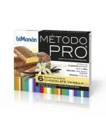 Bimanan Pro Bars Schokoladen-Vanille 6 Einheiten