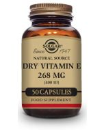 VITAMIN E 400IU (268 mg) 50 vegetarische Kapseln [SOLGAR]