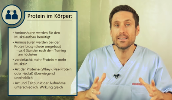 Proteinshakes ➡️ Welche Vorteile haben Proteinpulver aus ärztlicher Sicht?